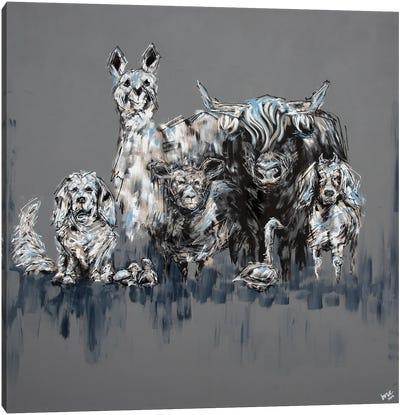 The Brat Pack Canvas Art Print