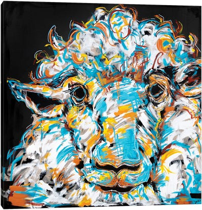Marty The Sheep Canvas Art Print