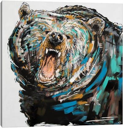 Phillip The Bear Canvas Art Print