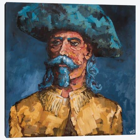 Buffalo Bill Canvas Print #BHM8} by Bria Hammock Canvas Art Print