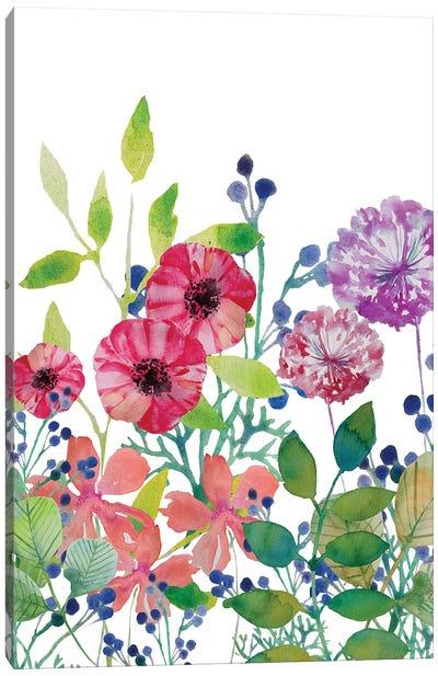 Flowers V Canvas Art Print