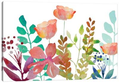 Florals V Canvas Art Print