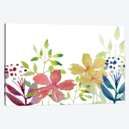 Flowers IV Canvas Print #BHS14} by Boho Hue Studio Art Print