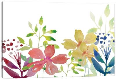 Flowers IV Canvas Art Print