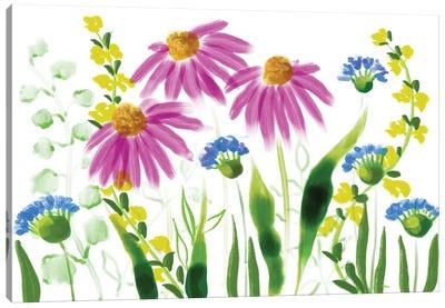 Wild Flowers X Canvas Art Print