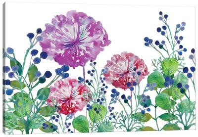 Floral Field I Canvas Art Print
