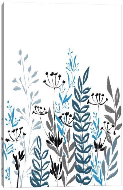 Blue Field I Canvas Art Print