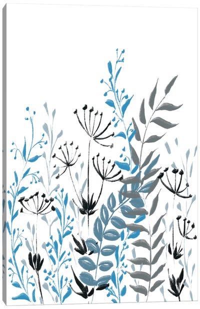 Blue Field II Canvas Art Print