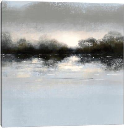 Blue Castscape Canvas Art Print