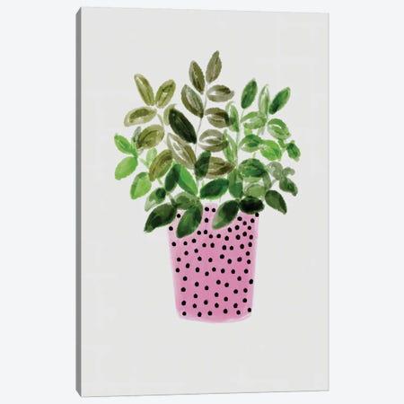 Home Foliage I Canvas Print #BHS3} by Boho Hue Studio Canvas Wall Art