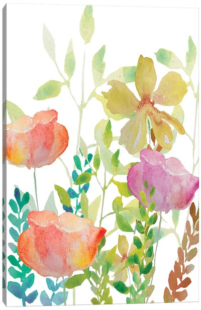 Field Flowers Canvas Art Print