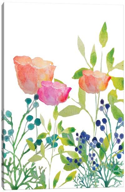 Flowers XX Canvas Art Print