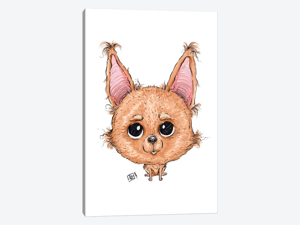 Chihuahua by Billi French 1-piece Canvas Art Print