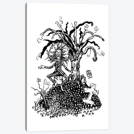 Beetleguice Canvas Print #BIF11} by Billi French Canvas Wall Art