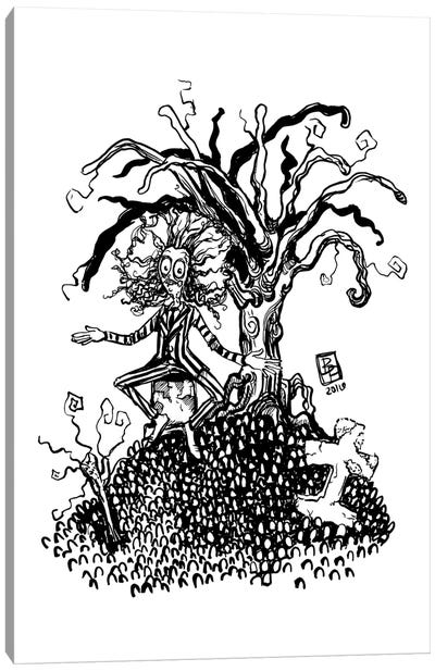 Beetleguice Canvas Art Print