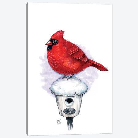 Cardinal Canvas Print #BIF13} by Billi French Canvas Wall Art