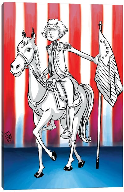 George Washington Canvas Art Print
