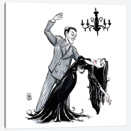 Gothic Tango Canvas Print #BIF25} by Billi French Canvas Wall Art