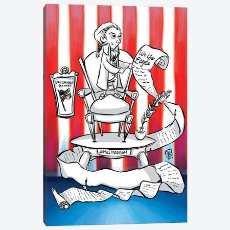James Madison 3-Piece Canvas #BIF31} by Billi French Canvas Art