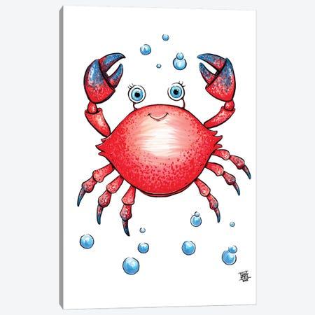 Sea Creature Crab Canvas Print #BIF37} by Billi French Canvas Art Print
