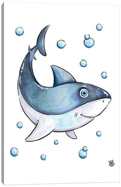 Sea Creature Shark Canvas Art Print