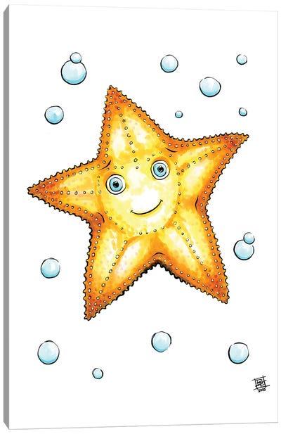 Sea Creature Starfish Canvas Art Print
