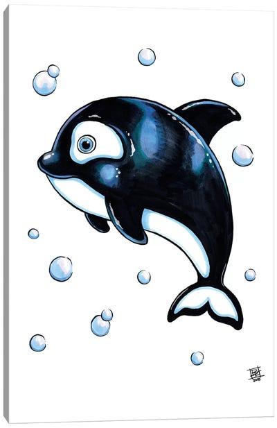 Sea Creature Whale Canvas Art Print