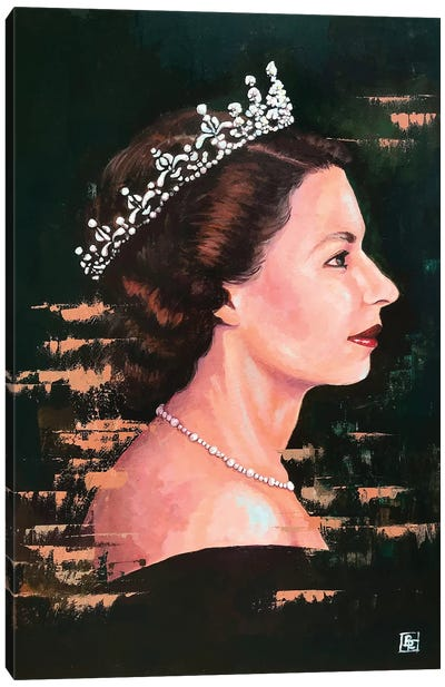 God Save The Queen Canvas Art Print