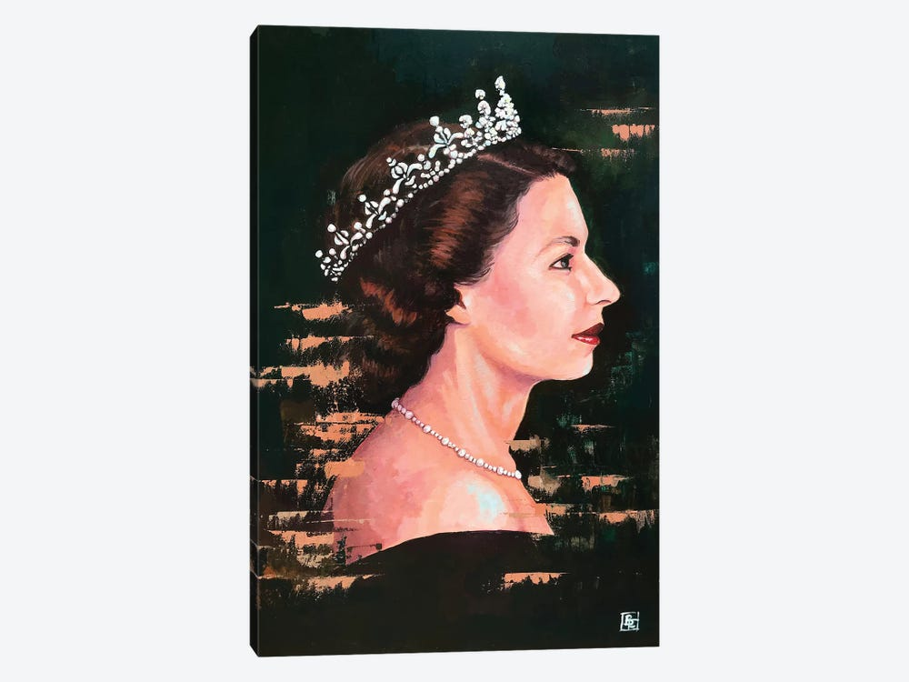 God Save The Queen by Billi French 1-piece Canvas Artwork