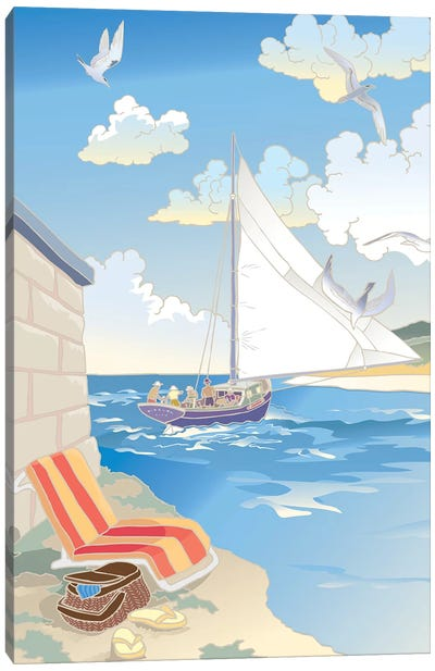 Down by the Bay Canvas Art Print