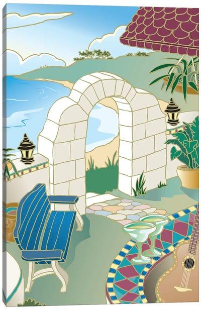 Drinks in the Tropics Canvas Art Print