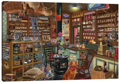 General Merchandise Canvas Art Print
