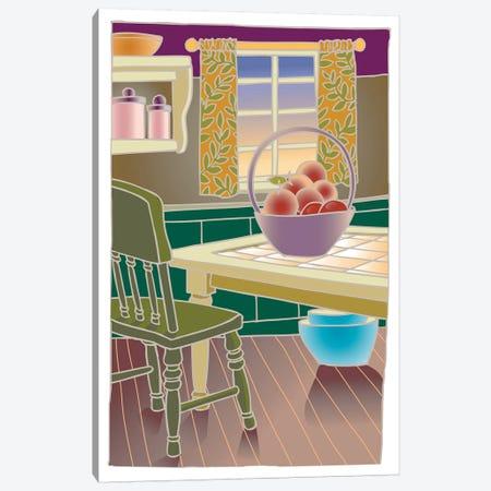 Kitchen Canvas Print #BII32} by Bigelow Illustrations Art Print