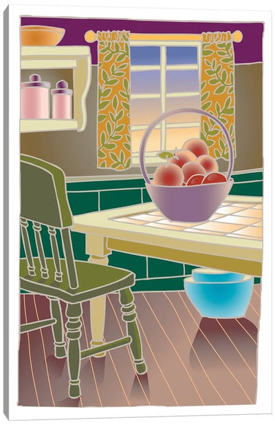 Kitchen Canvas Art Print