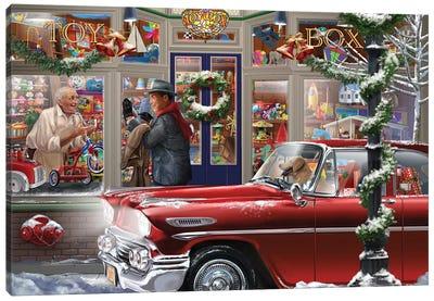 Last Minute Christmas Canvas Art Print