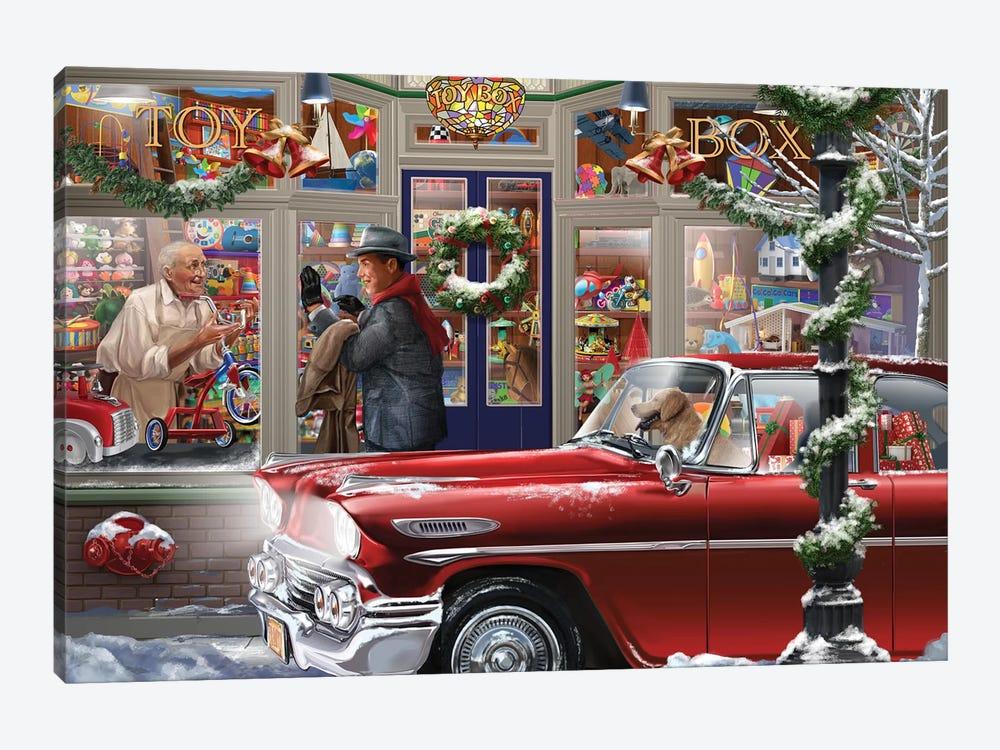 Last Minute Christmas by Bigelow Illustrations 1-piece Art Print