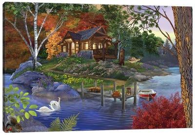 Memory Lake Canvas Art Print