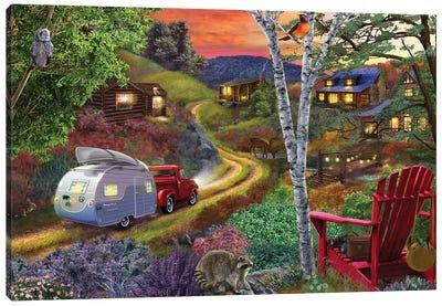 Neighbors II Canvas Art Print