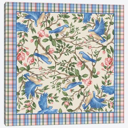 Bird Scarf Canvas Print #BII5} by Bigelow Illustrations Canvas Art Print