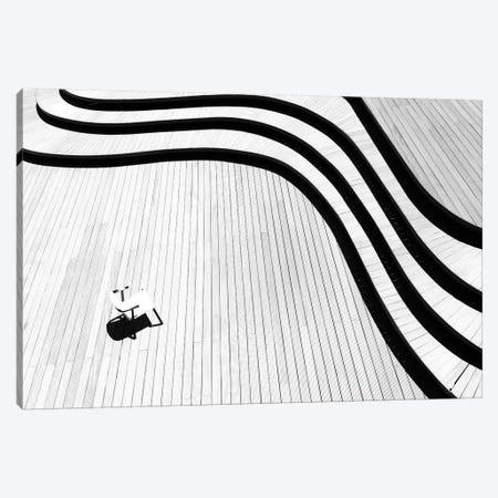 The Chair Canvas Print #BIZ5} by Bingo Z Art Print
