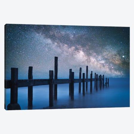 A Starry Night Canvas Print #BIZ9} by Bingo Z Canvas Wall Art