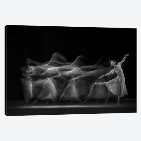 Waves of Balerina 3-Piece Canvas #BJM2} by Antonyus Bunjamin Art Print