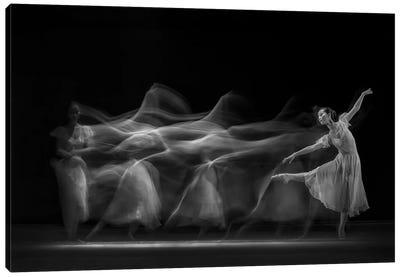 Waves of Balerina Canvas Art Print