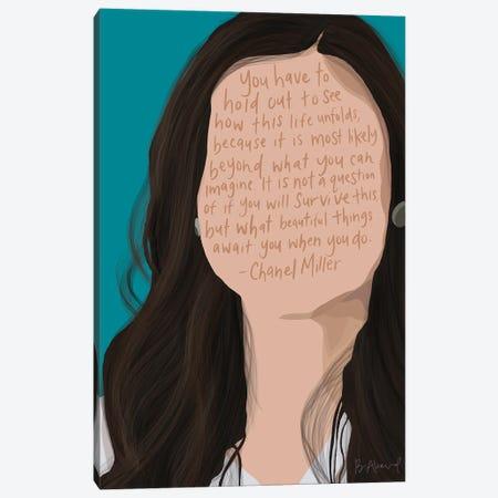 Chanel Miller Canvas Print #BKD18} by Bec Akard Art Print