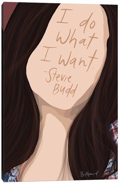 Stevie Budd Canvas Art Print