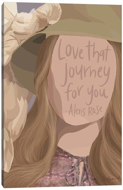 Alexis Rose Canvas Art Print