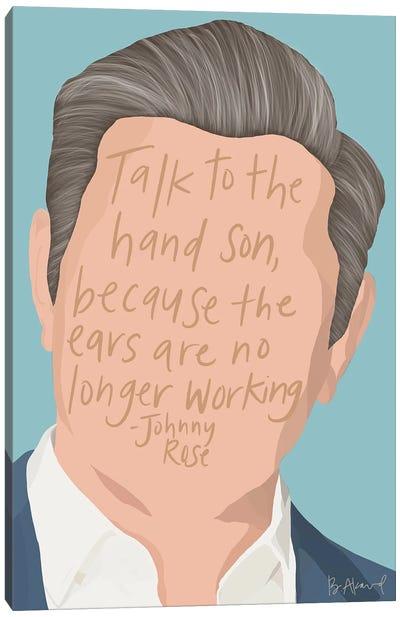 Johnny Rose Canvas Art Print