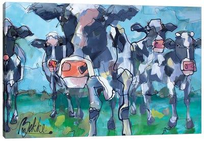 Koeies Canvas Art Print