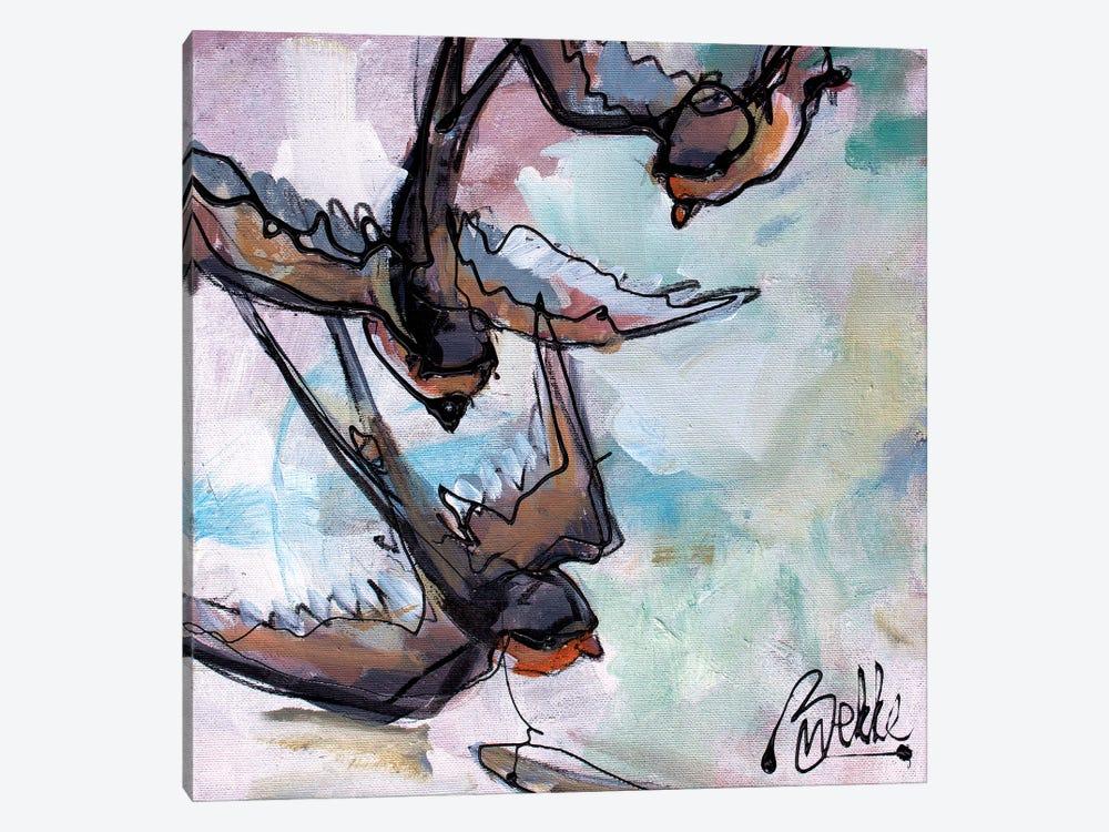 Swaaluwies by Marieke Bekke 1-piece Canvas Artwork