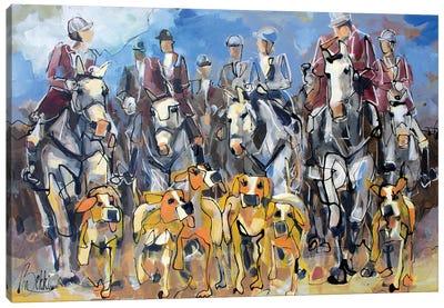 Commie Huntie Canvas Art Print